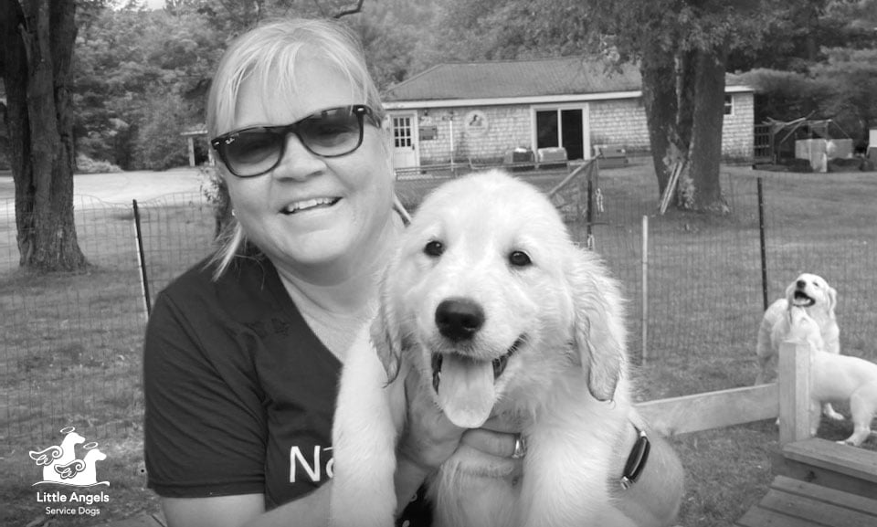 Wendy Olson Joins Board of Directors of Little Angels Service Dogs